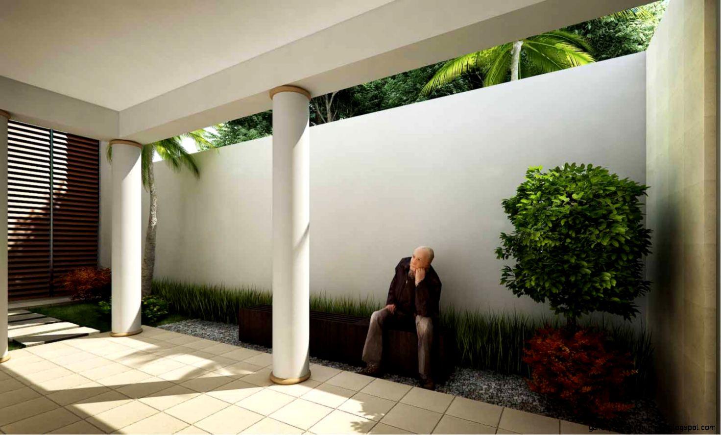 Desain Taman Belakang Rumah Minimalis Modern Inspirasi Terbaik