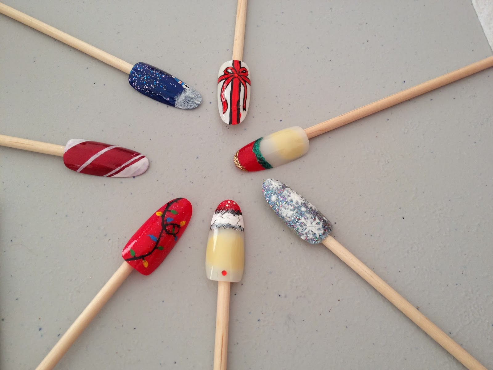 Ateliers nail art Décembre et Janvier16