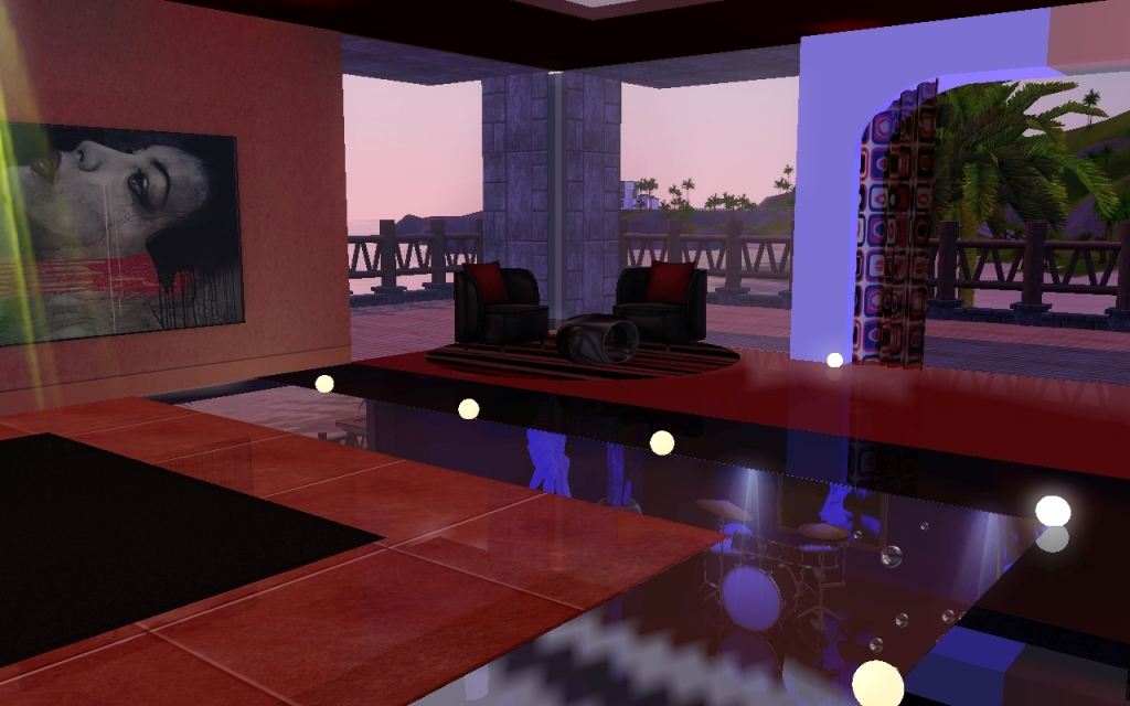 sims 3 how to make exclusive lounge