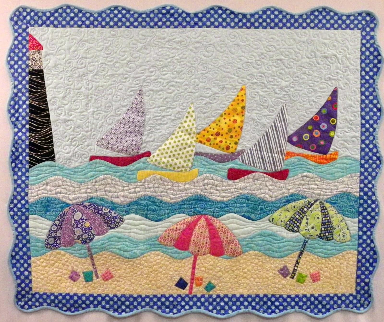 Quilting Patterns Beach Theme : Cheryl Lynch Quilts: Curvalicious