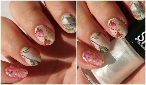 Napkin Nails, Servietten Nail Art