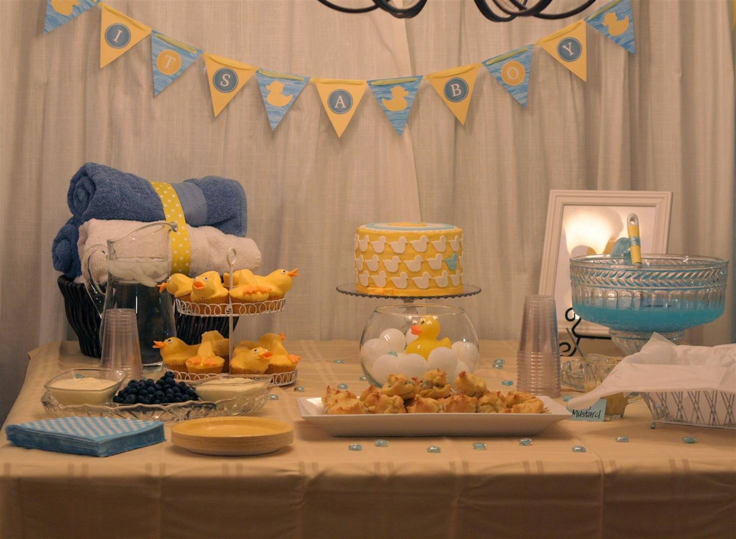 Patty Cakes Bakery: Rubber Ducky Baby Shower