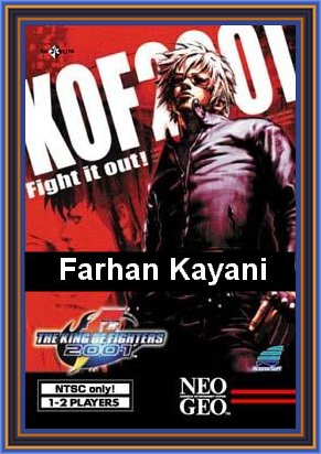 The King of Fighters 2001 (cover) by Farhan Kayani