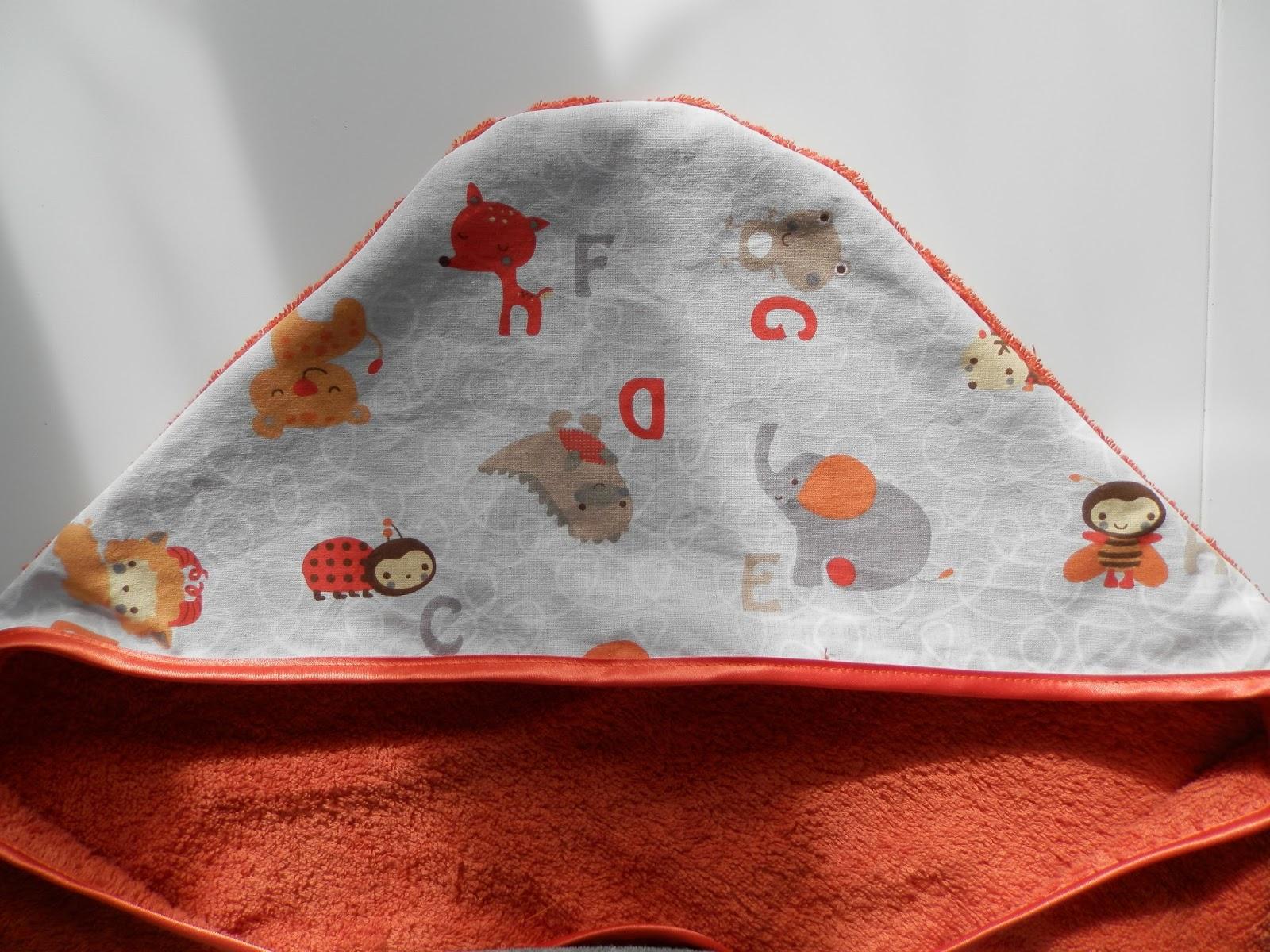 Coton et Création : Cape de bains