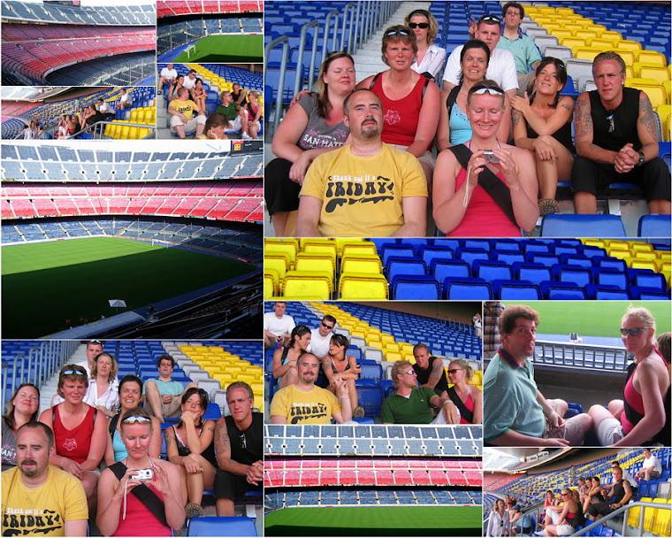 Vara Folkhögskola i Västergötland Studiebesök i Barcelona Fulboll Clubb Barcelona FCB 2005