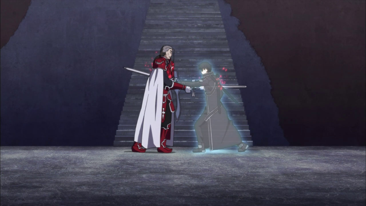 The blacksheep project sword art online 14 how the heck for Floor 100 boss sao