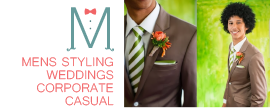 Formal menswear styling services