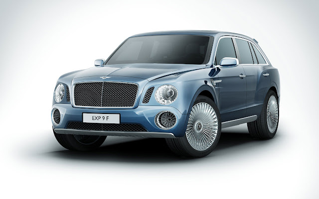 Bentley EXP 9 F SUV frontside