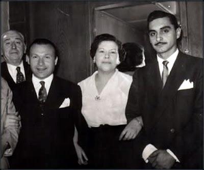 Donato Racciatti, Nina Miranda y Victor Ruiz