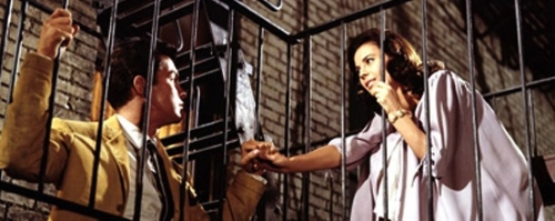 Richard Beymer and Natalie Wood star as star-crossed lovers Tony and Maria in WEST SIDE STORY, an modern homage to William Shakespeare's ROMEO & JULIET