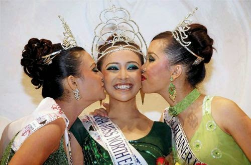 Geetanjali Thapa Mega Miss North East 2007
