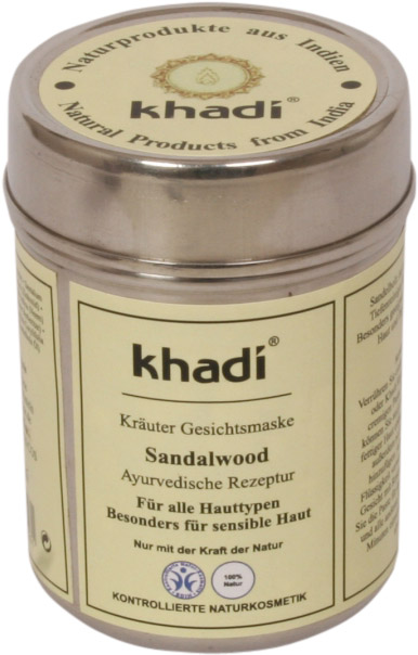 Khadì - Maschera viso al sandalo
