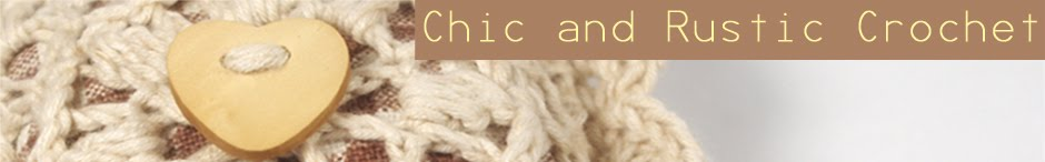 Crochet Crafts Handmade DIY - Rustic Shabby Chic French Country Cottage Chic Romantic Boho