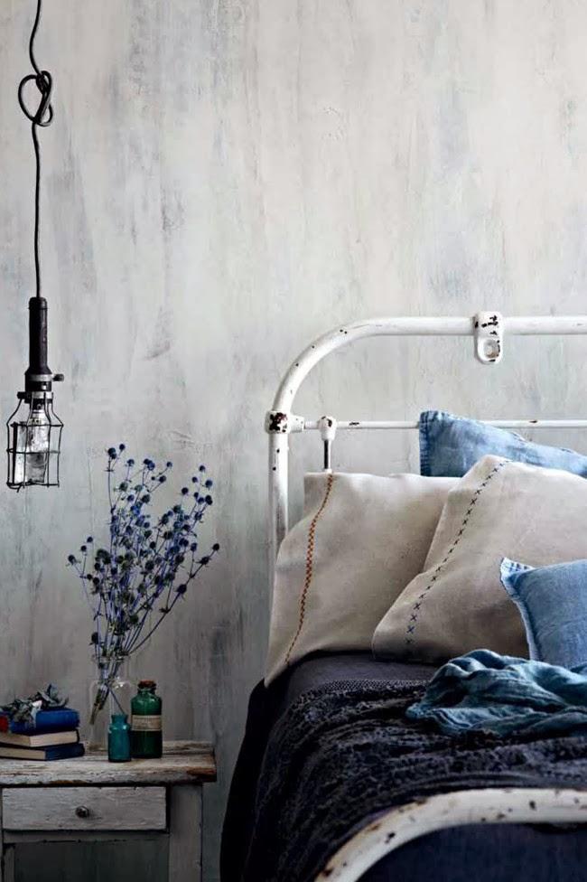 denim style indigo blue bedrooms indigo bedrooms white bedrooms bedside lamps bedrooms
