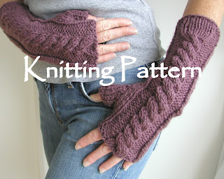 Not-Quite-Knit Arm Warmers (crochet) | kNew England Knitter