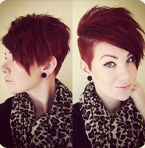 One Side Shaved Short Hairstyles - Best Short Hair Styles