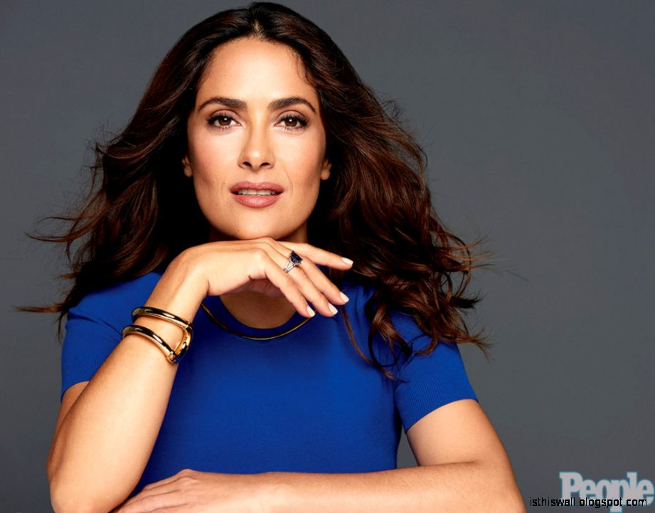 Salma Hayek Talks Daughter Valentina Having a Baby Later in Life