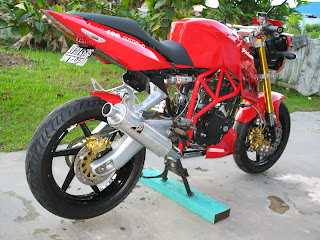 Kumpulan Modifikasi Street Fighter Rangka Tubular
