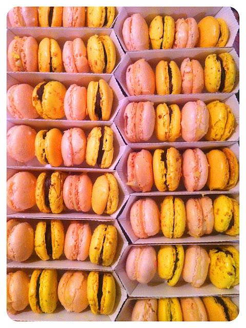 Cherie Kelly's Hazelnut and Vanilla Macarons