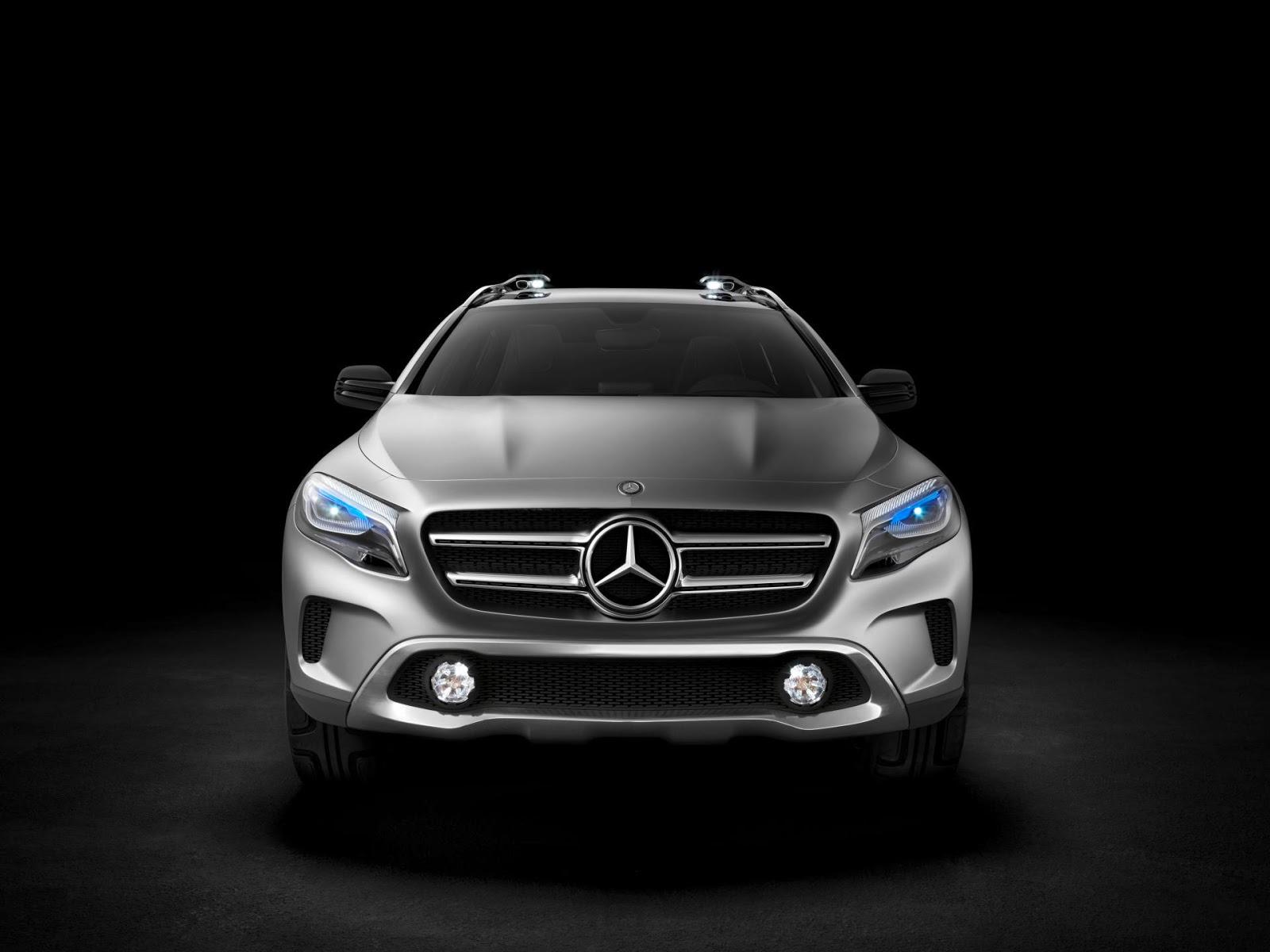 Mercedes benz gla concept 2013 hottest car wallpapers for 2013 mercedes benz gla