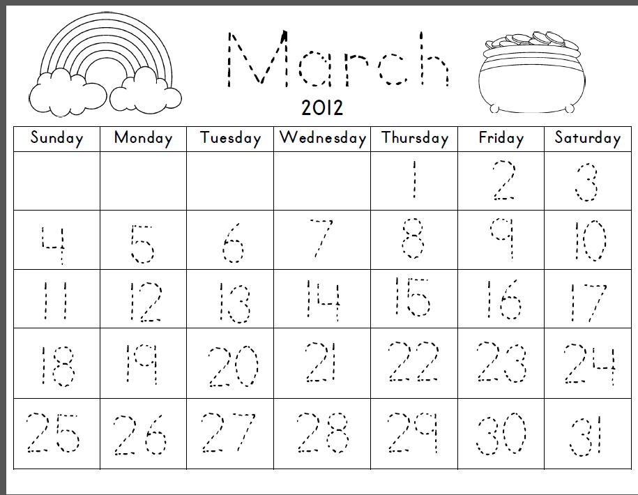 Kindergarten Calendar Smartboard : Amsti kindergarten style hello march