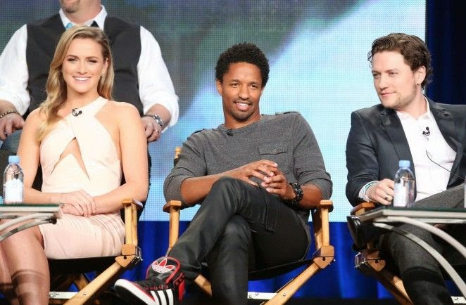 Things were going tastefully when Shantel VanSanten showed off her beauty figure to the Panel TCA Press Tour at Pasadena, CA, USA on Sunday, January 11, 2015.