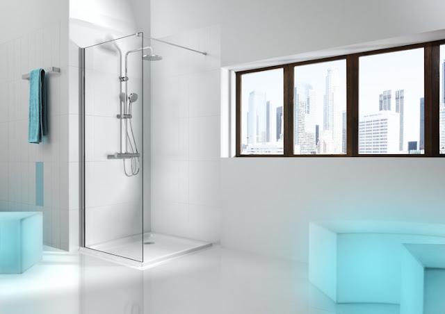 Новинки! Душевые панели Roca Loft и Victoria из Испании для ванной комнаты