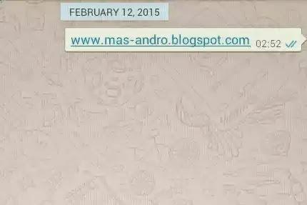 Tanda Centang Whatsapp telah dibaca