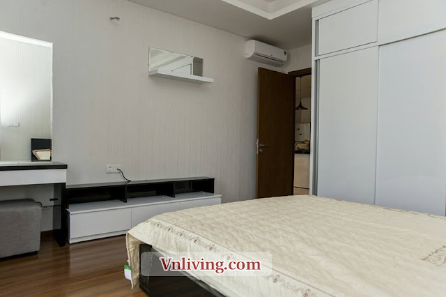 Thao Dien Pearl apartment for lease 3 bedrooms furnished high floor