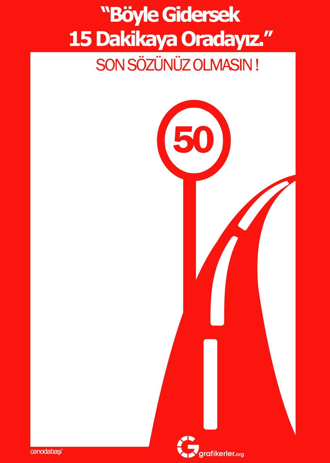 Trafik Kuralları İle İlgili afişler