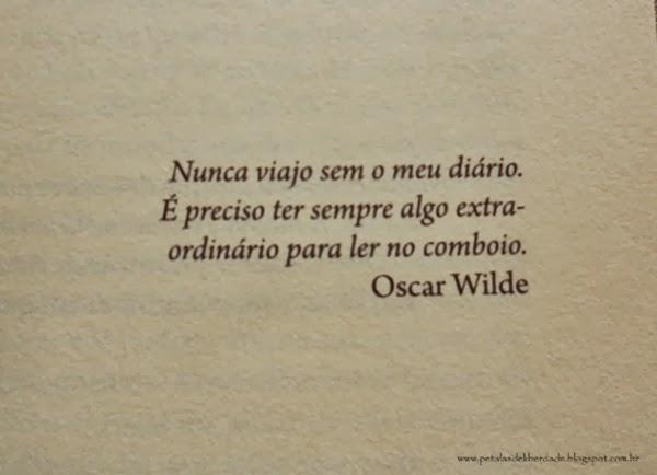 Citação de Oscar Wilde