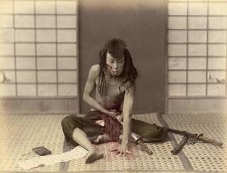 Suicide d'honneur au Japon - Harakiri