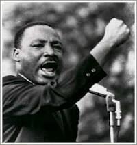 Luther King-silenciado por lutar contra a segregação racial,e por direitos para os negros-04 /4/68