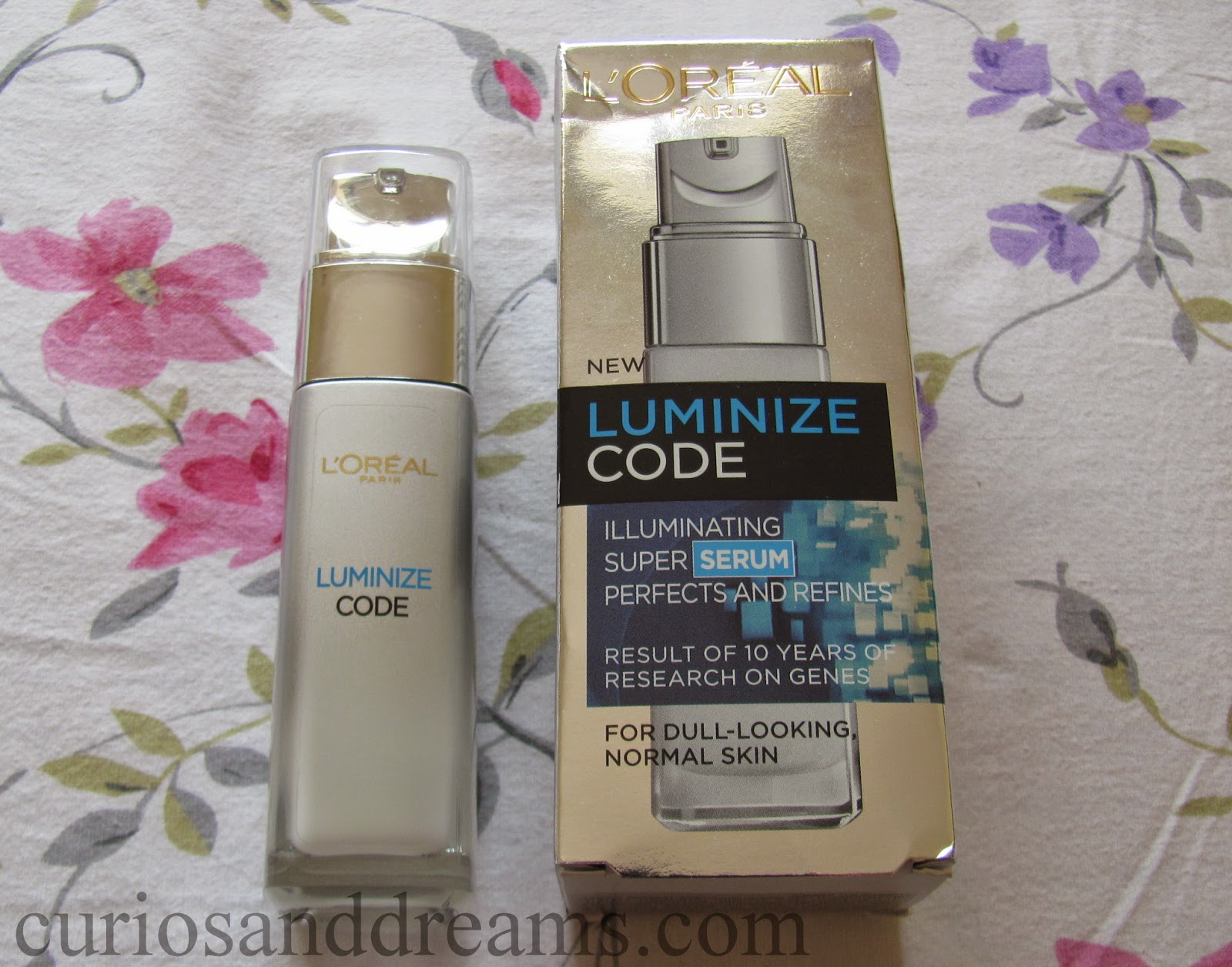 L'Oreal Paris Youth Code Luminize Serum review