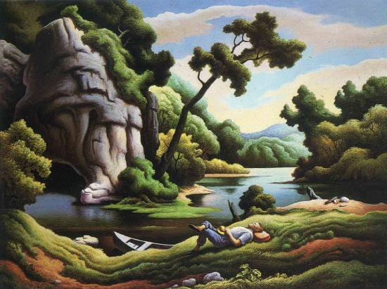 thomas hart benton essay What are the sources of country music according to thomas hart benton how does this music reflect changes in american society in the first half the 20th century.
