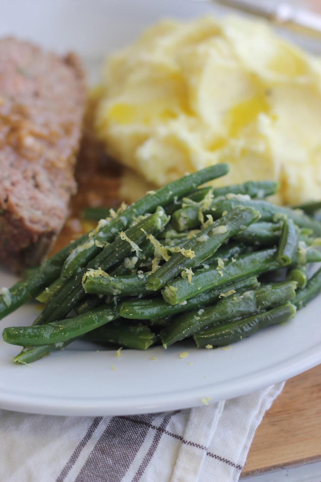 Ina Garten Meatloaf jenny steffens hobick: 1770 house meatloaf & green beans gremolata