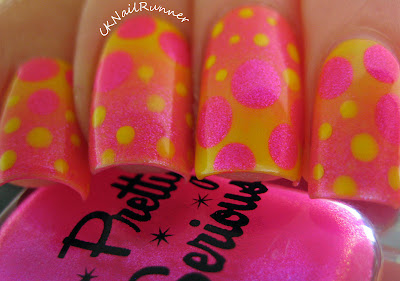 Pretty Serious The Pink One and Bourjois Sunny Sunday