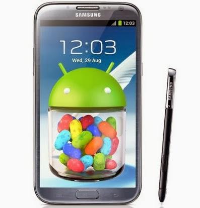 Android 4.3 Jelly Bean update for Samsung Galaxy Note II ...