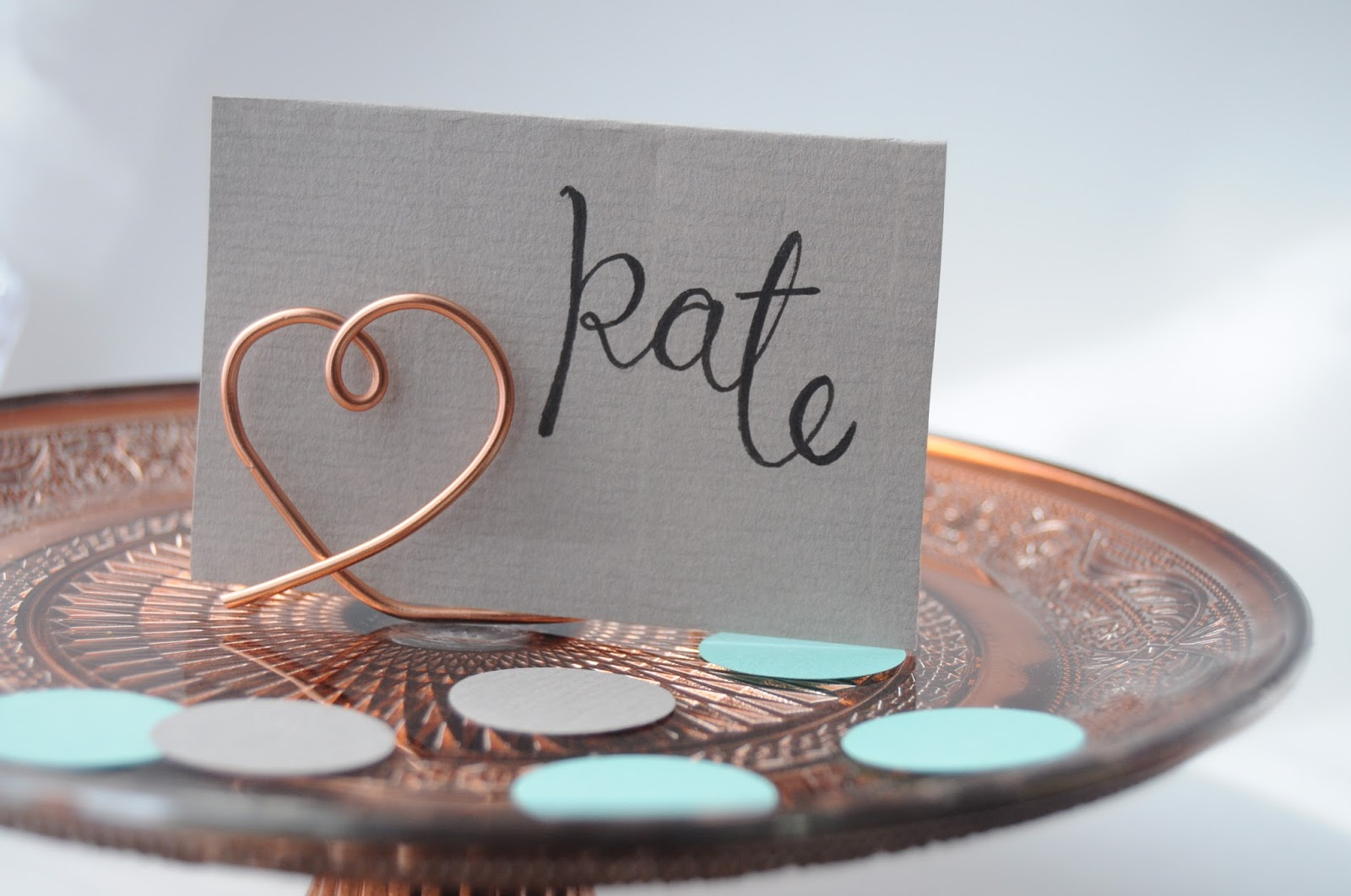Table Card Holder Ideas silver vampire place cards Life Lisa Diy Wire Place Card Holders