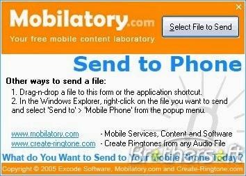 Kirim File ke Handphone Tanpa USB atau Bluetooth