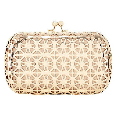 Calli Cut-Out Clutch Bag from Coast