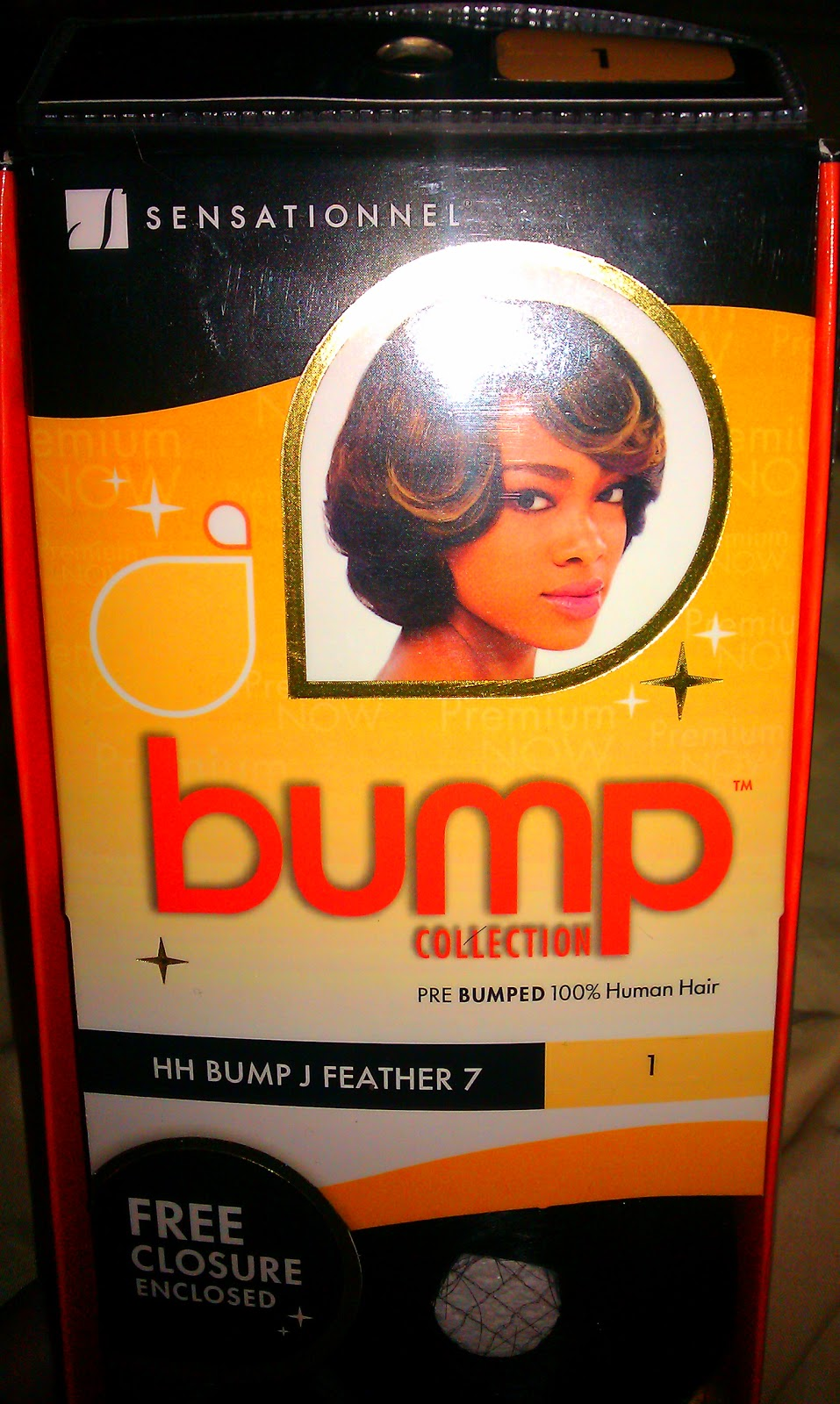 Painted Glam Quickie Protective Weave Styling With Sensationnel Bump