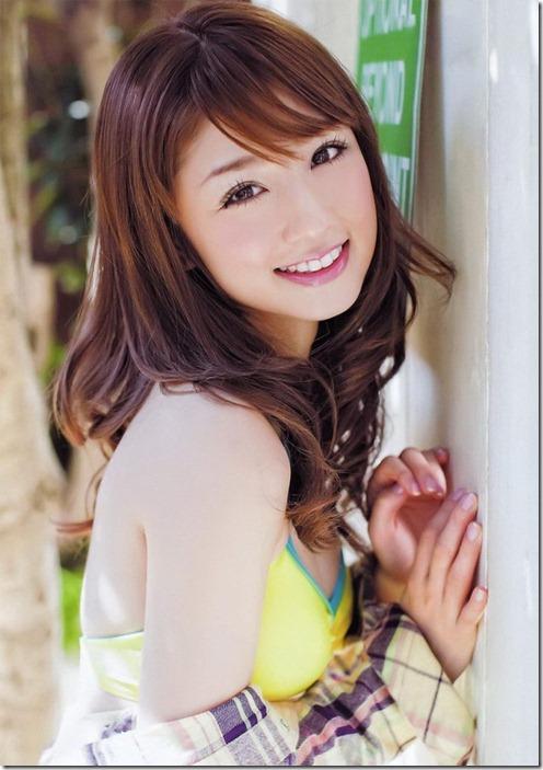 Japanese Model Yuko Ogura In The Summer