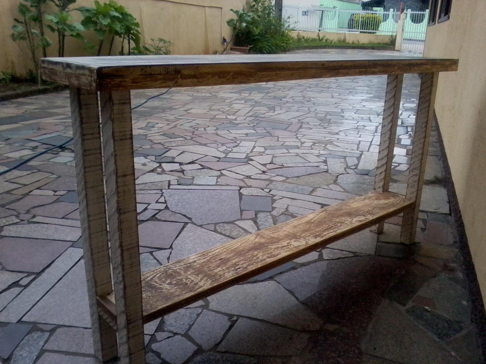 Brechó da Tila: Móveis artesanais madeira de demolição/reciclada #796652 1600x1200