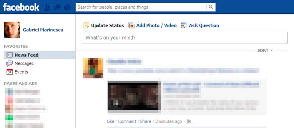 Modificarile introduse de Facebook permit controlul News Feed-ului