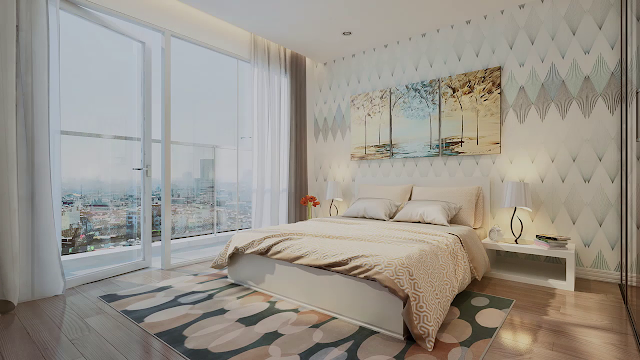 Thiết kế phòng ngủ tại Eco Green City