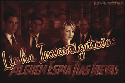 CF - Linha Investigativa - Alguém Espia Nas Trevas (Regiane Souza)