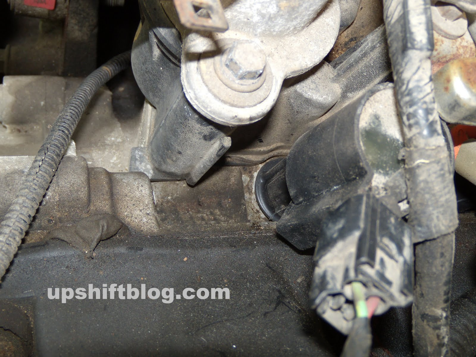 Upshift How To Ford Crown Victoria Tune Up Check Engine Light Spark Plugs Diagram For A 97 F150 4 6l Autos Weblog While Doing This Take Look At The Top Of Head In Between Valve Covers And Intake Manifold Do You See Antifreeze Failure Is