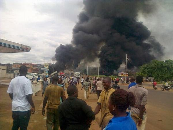 fuel tanker explosion onitsha