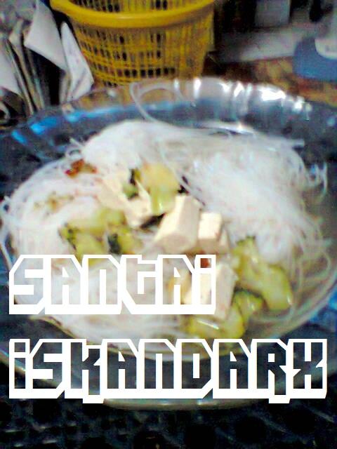 iskandarx.blogspot.com,is pun dinner lambat semalam,santai,bihun sup,dinner,lambat,diet